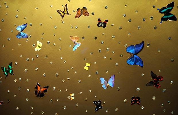 damien hirst butterflies tate modern