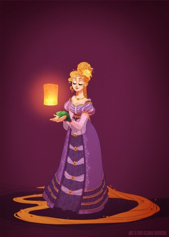 Rapunzel 18th century (Northern Italy, Archduchy of Austria/Austrian Empire)