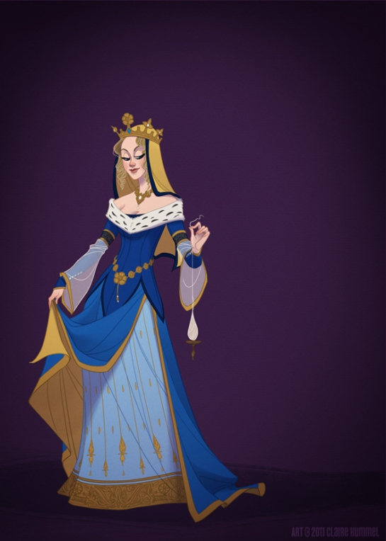 Sleeping Beauty based on the 14th Century in France