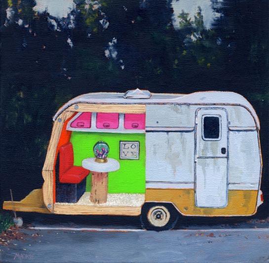 caravan 2_love_27x27cm(framed)_mackie_£800