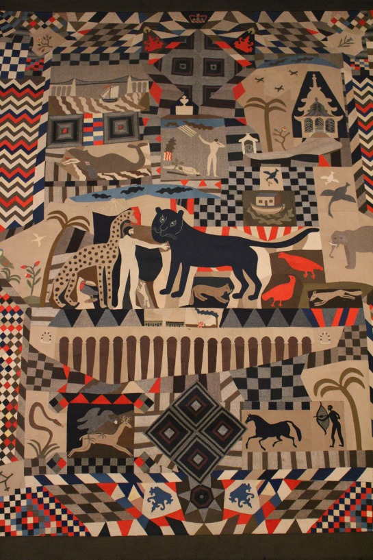 James Williams, Patchwork bedcover